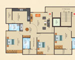 Adithya Developers - Floor Plan - 1